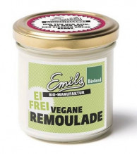 Emils, Vegane Remoulade, ohne Ei, 125gl Glas