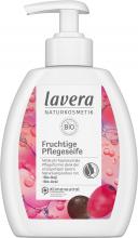 Lavera, Fruchtige Pflegeseife, 250 ml Flasche