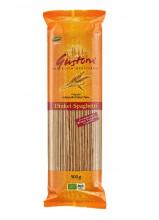Gustoni, Dinkel Spaghetti, bronze, 500g Packung