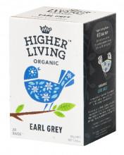 Higher Living, Earl Grey, 45g, 20 Btl. Packung