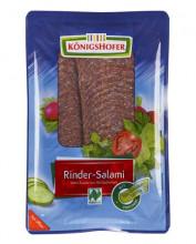 Königshofer, Rindersalami, geschnitten, (R), 80g Packung