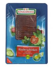 Königshofer, Rinderschinken, geschnitten, (R),  80g Packung