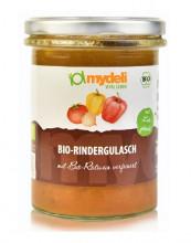 MyDeli, Bio-Rindergulasch, 380g Glas