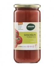 Naturata, Geschälte Tomaten in Tomatensaft, demeter, 660g Glas