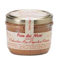 Pan do Mar, Makrelen Bio-Paprika Pastete, 125g Glas