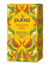 Pukka, Kurkuma Aktiv, 1,8g, 20 Btl. Packung