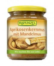 Rapunzel, Aprikosenkernmus mit Mandelmus, 250g Glas