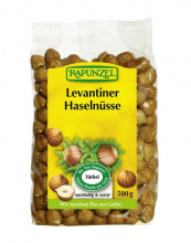 Rapunzel, Levantiner Haselnüsse, 500g Packung