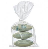 Savon du Midi, Oliven-Rosmarin-Seife, 3 x 150g Stück, 450g Packung