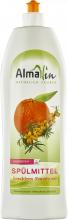 AlmaWin,Spülmittel Sanddorn- Mandarinenduft, 1L Flasche