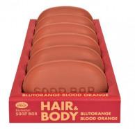 SPEICK, Bionatur Soap Bar Hair + Body Seife Blutorange, 125 Stück
