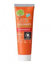 Urtekram, Childrens Zahnpasta Tuttifrutti, 75ml Tube