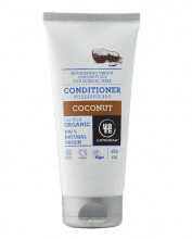 Urtekram, Shampoo Coconut, 180ml Tube