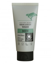 Urtekram, Hair & Body Wash Men, 150ml Tube