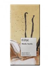 Vivani Bio-Genuss, Weiße Vanille, 80g Packung