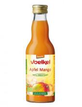 Voelkel, Apfel-Mango-Saft, demeter, 0,2 l incl. 0,15 EUR Pfand, Flasche