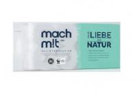 Wepa, Mach mit Toilettenpapier, 3-lagig, 150Blatt, 8 Rollen