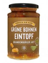 Wünsch Dir Mahl, Grüne Bohnen Eintopf Brandenburger Art, 380g Glas