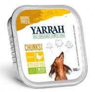 Yarrah, Hundefutter mit Huhn, glutenfrei, 150g Aluschale