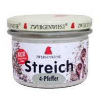 Zwergenwiese, 4-Pfeffer Streich, 180g Glas