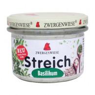 Zwergenwiese, Basilikum Streich, 180g Glas