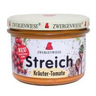 Zwergenwiese, Kräuter-Tomate Streich, 180g Glas