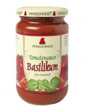 Zwergenwiese, Tomatensauce Basilikum, 350g Glas