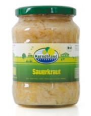 Marschland Naturkost, Sauerkraut, Bioland, 720ml Glas
