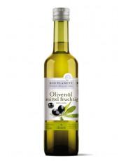 "Bio Planète, Olivenöl ""mittel fruchtig"", nativ extra, 0,5 l Flasche"