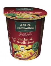 Natur Compagnie, Asia Chicken & Noodle Soup, 55g (255ml) Becher