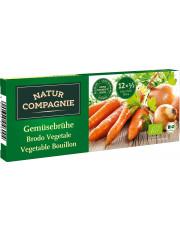 Natur Compagnie, Klare Gemüsebrühe, 12 Stück Packung