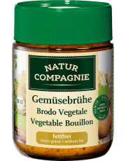Natur Compagnie, Gemüsebrühe, fettfrei, 162g Glas