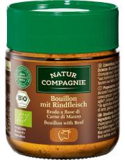 Natur Compagnie, Bouillon mit Rindfleisch, 100g Glas