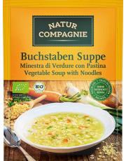 Natur Compagnie, Buchstabensuppe, 50g Beutel