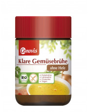 Heirler Cenovis, Klare Gemüsebrühe, ohne Hefe, 140g Glas