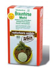 naturkorn mühle Werz, Braunhirse gemahlen, 500g Packung