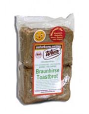 naturkorn mühle Werz, Braunhirse Toastbrot, glutenfrei, 250g Packung