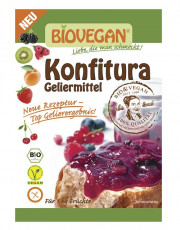 Biovegan, Käthes Bio-Konfitura, Geliermittel, glutenfrei, 22g Packung