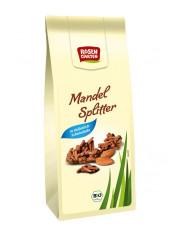 Rosengarten, Mandelsplitter in Vollmilchschokolade, 70g Packung