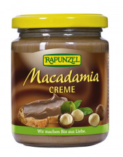Rapunzel, Macadamia Creme, 250g Glas