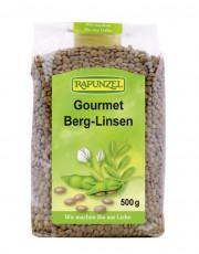 Rapunzel, Gourmet Berg-Linsen (braun), 500g Packung