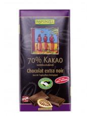 Rapunzel, 70% Kakao Edelbitterschokolade, 80g Tafel