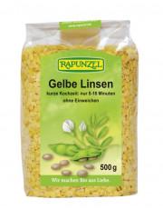 Rapunzel, Gelbe Linsen, 500g Packung