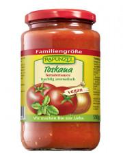 Rapunzel, Tomatensauce Toskana, 550g Glas