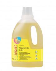 Sonett, Waschmittel color flüssig, 1,5 Liter Flasche