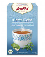 Golden Temple, Yogi Tea Klarer Geist Tee, 1,8g, 17 Btl Packung