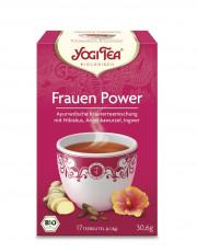 Golden Temple, Yogi Tea Frauen Power Tee, 1,8g, 17 Btl Packung
