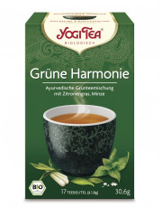 Golden Temple, Yogi Tea Grüne Harmonie, 1,8g, 17 Btl Packung