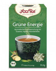 Golden Temple, Yogi Tea Grüne Energie, 1,8g, 17 Btl Packung