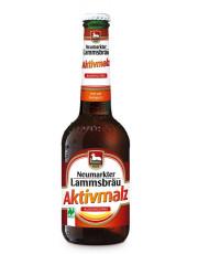 Neumarkter Lammsbräu, Aktivmalz, 0,33 l incl. 0,08 EUR Pfand, Flasche
